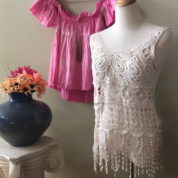 lovely Other - LACE TOP| COVER UP Lovely 153 Small